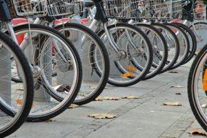 les vélos partagés de Lyon : velo'v- art de vivre