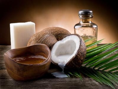 huiles végétales : noix de coco