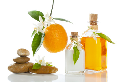 huiles végétales : orange