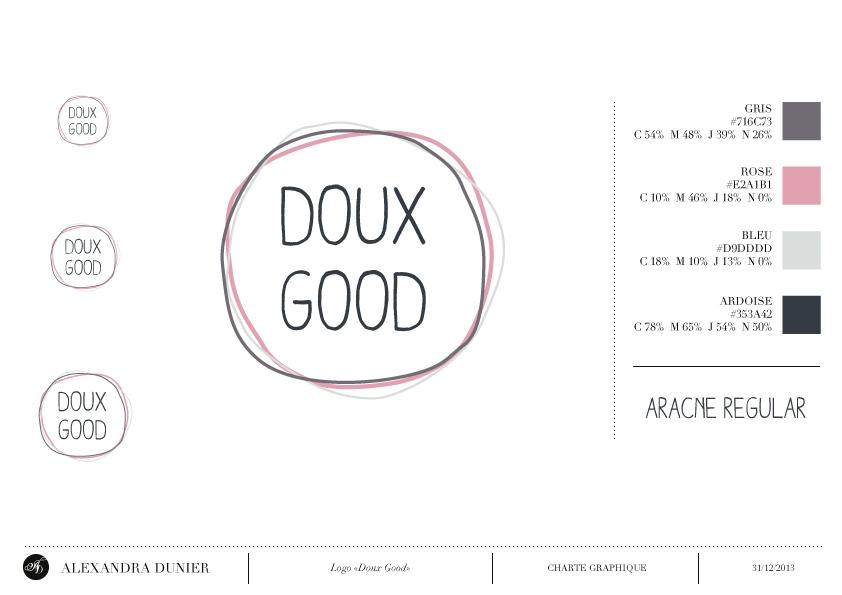 Logo Doux Good, site de vente en ligne de cosmétiques bio