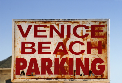 venice beach parking sign - boho chic