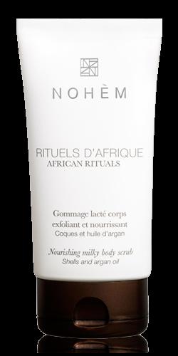 Découvrez le gommage corps lacté naturel de Nohem