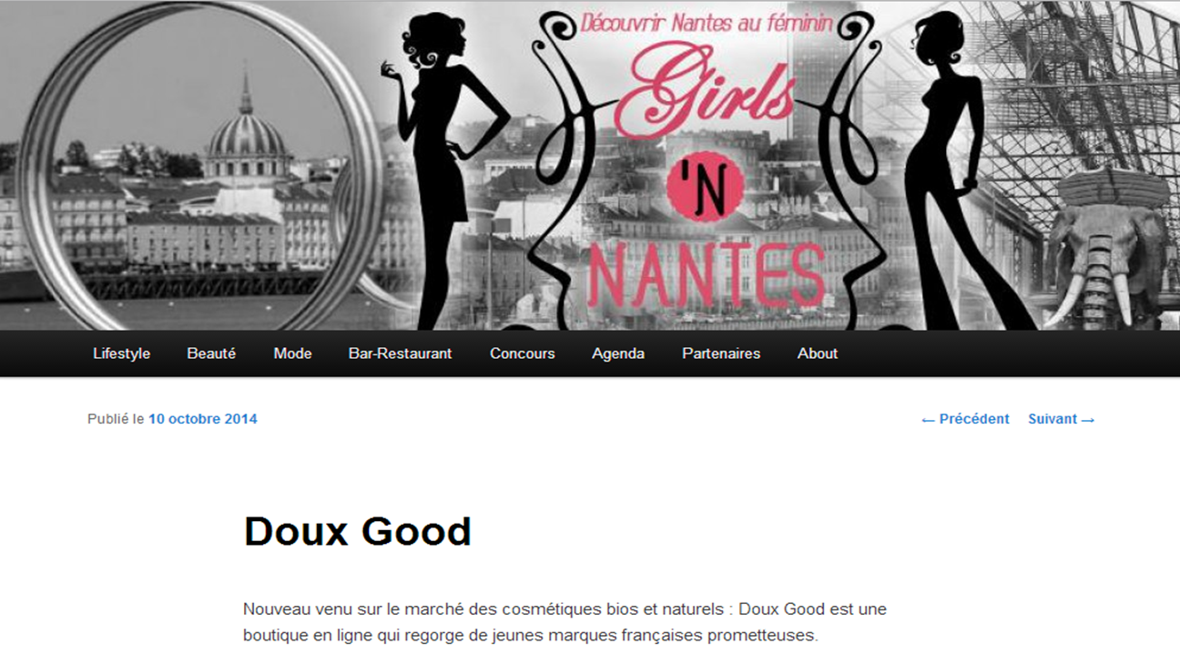 Article Girls'n Nantes