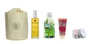 Le vanity Doux Good Pause détente avec 4 soins bio visage et corps, idées cadeaux femme