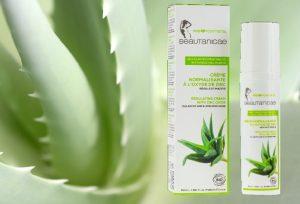 Doux Good - beautanicae - crème visage bio normalisante à l'oxyde de zinc