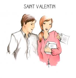 Cadeau St Valentin : un vanity Doux Good pour Elle et pour Lui