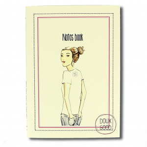 Carnet Doux Good - Notes book - La Doux Good attitude