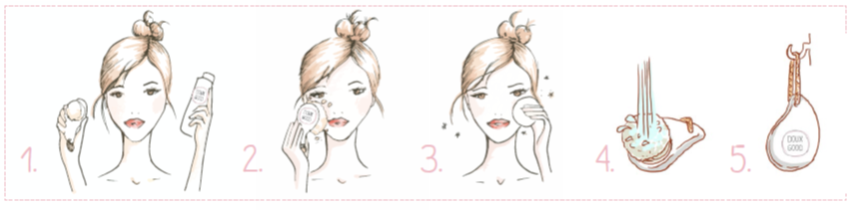 soin visage etape