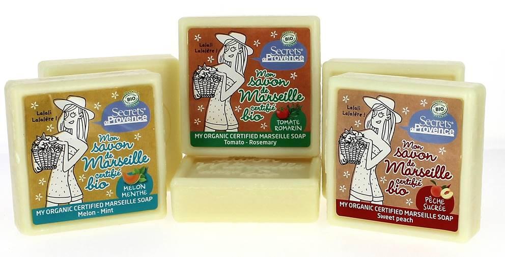 secrets de Provence - le savon de Marseille bio !