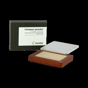 Colorisi - Poudre compacte naturelle pour sublimer le teint - Beige léger 01