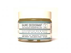 Baume déodorant bio Herbacé -Menthe