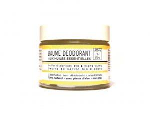 Baume déodorant bio Sucré - Ylang