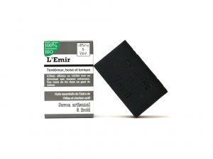 emir - savon surgras détoxifiant au charbon activé