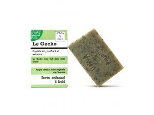 gecko- savon à froid exfoliant