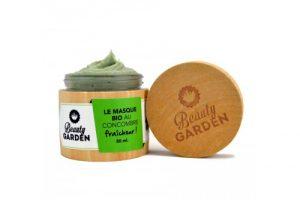Masque bio hydratant au concombre Beauty Garden