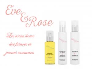 Eve & Rose, les soins femmes enceintes naturels, bio et doux sur Doux Good