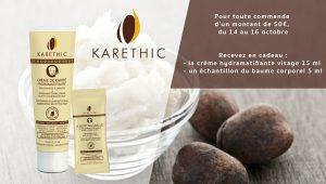 karethic, la gamme de soins bio au beurre de karité bio