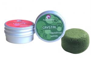 Dentifrice solide Pachamamaï - Crystal et Candiz - Cosmétiques solides