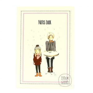 Notes book Doux Good - carnet doudoune