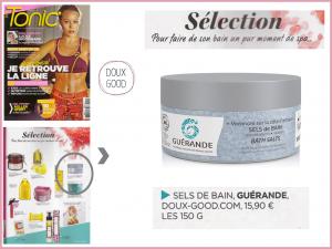 Tonic -février 2017 - les sels de bains Guérande