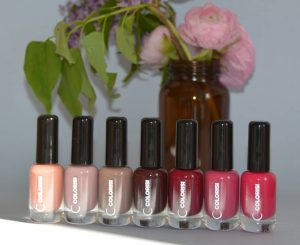 Colorisi, vernis naturels collection Dolce Vita