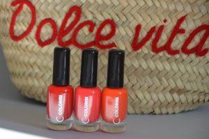 Dolce Vita, les vernis à ongles Colorisi