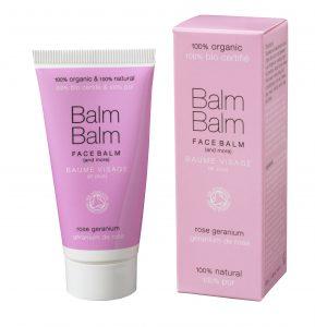 Balm Balm - Baume visage bio - géranium rosat