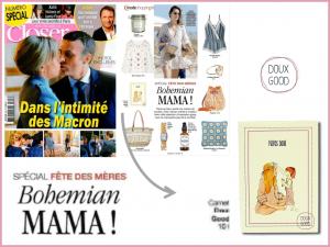 Le carnet Doux Good dans Closer - sélection fête des mères
