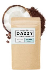 Dazzy gommage 100% naturel café&coco