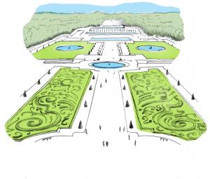 jardin-a-la-francaise-Potager-du-Roi-Versailles