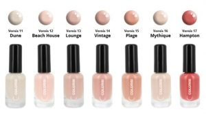 Collection Nude - Vernis naturel et vegan - Week-end aux Hamptons - Colorisi