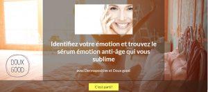 Faites le test Dermapositive en lignepour conaitre le sérum anti-age qui correspond à vos émotions
