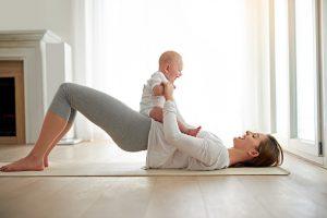 Etre belle après l'accouchement avec les soins bio jeune maman
