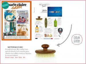 Marie-Claire idées - Le nettoyage à sec de la peau avec la brosse corps Doux Good