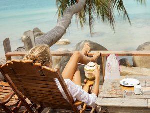 le sac à maillot mouillé, le zéro déchet à la plage
