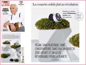 Dentifrice Solide Pachamamaï - bio et vegan - dans la sélection de cosmétiques solides de Paris Match