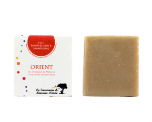 Savon et shampoing solide bio Orient de la Savonnerie du Nouveau Monde