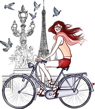 Art de vivre Doux Good - vélo