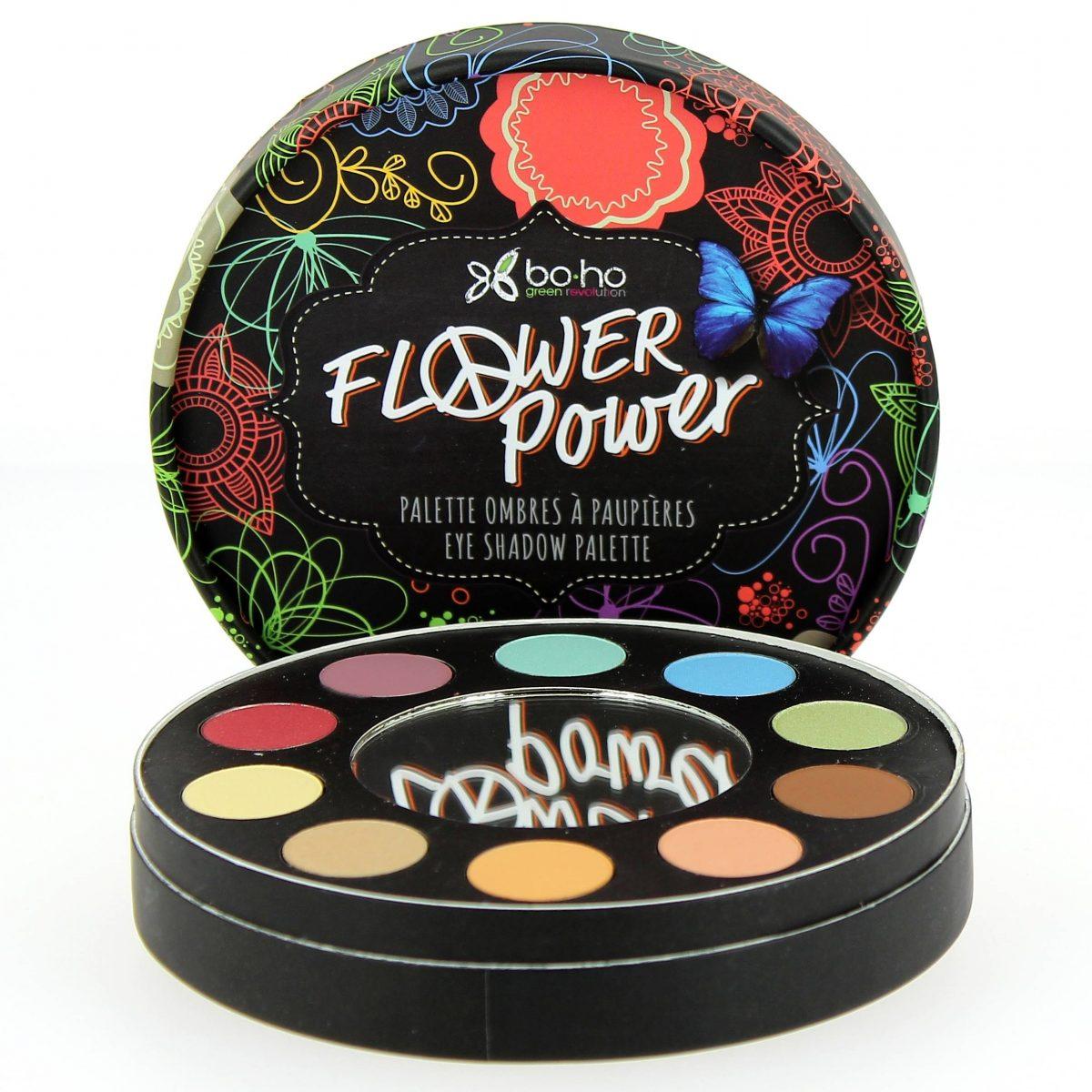 Flower Power, la nouvelle palette de fard à paupière Boho