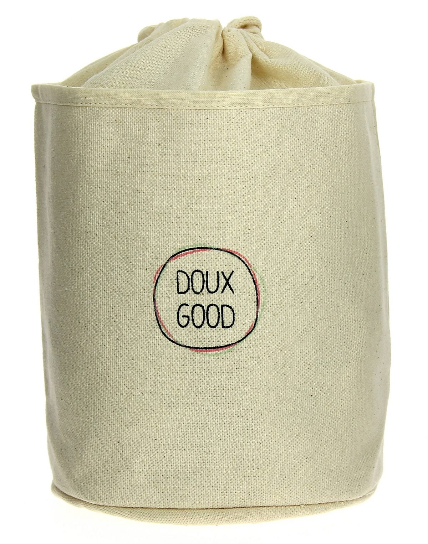 La trousse de toilette femme Doux Good en coton bio