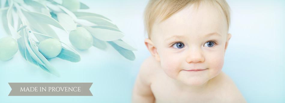 Soins bio pour bébé Olive & Calisson