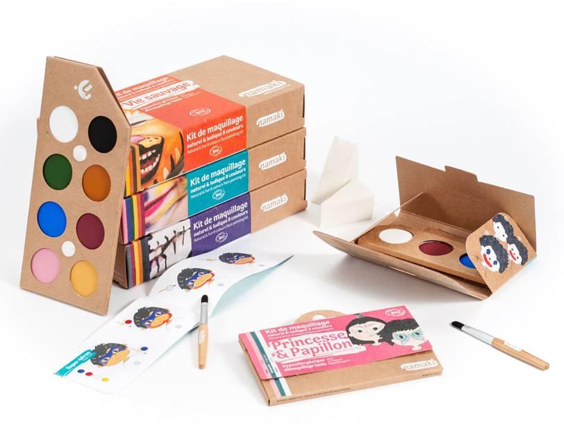 Découvrez sur Doux Good, la nouvelle marque française Namaki de maquillage bio pour enfants.