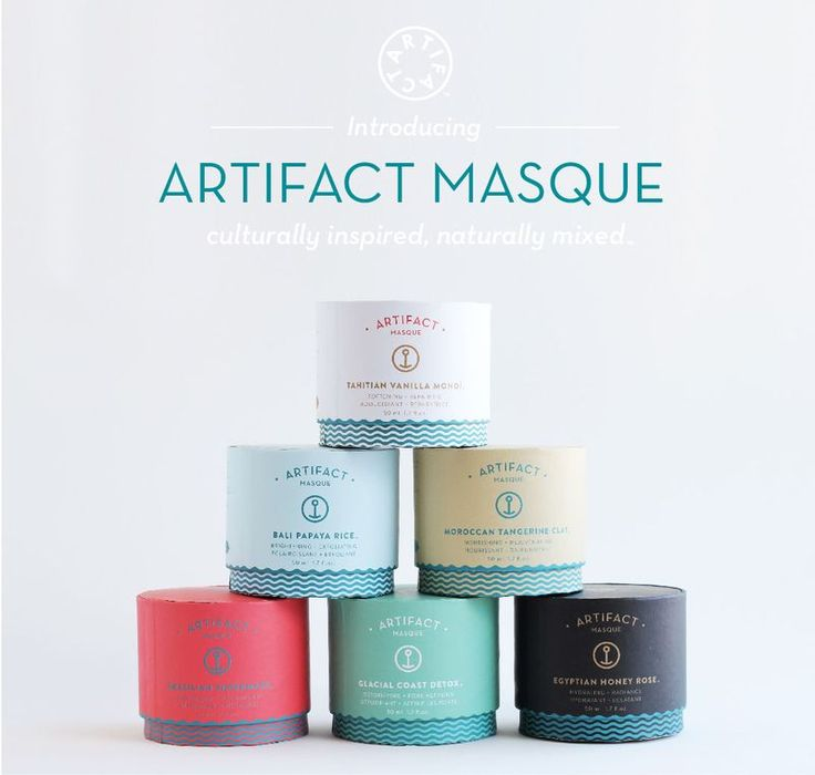 Doux Good - Gamme de masques visage Artifact