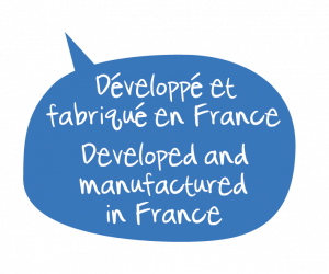 Développé et fabrique en France. Secrets de Provence et le made in France