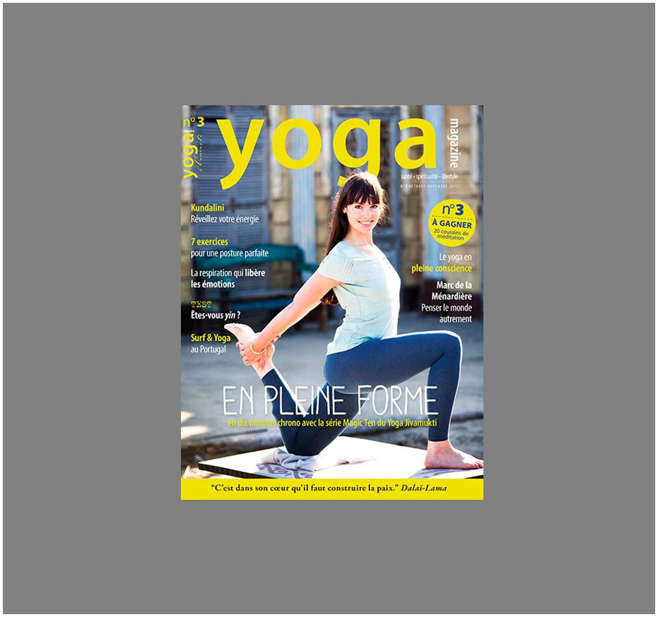 Yoga Magazine - brosse nettoyant visage Doux Good comme une caresse