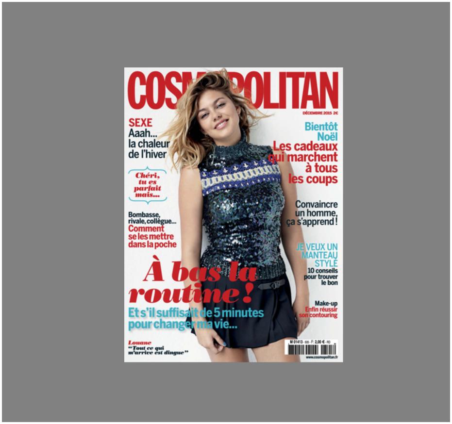 Cosmopolitan, la brosse pour le visage Doux Good - accessoire beauté de saison