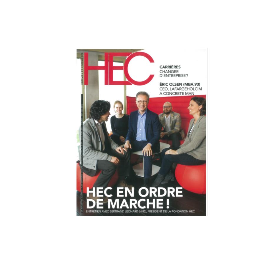 HEC : la beauté bio selon Carole Honnart
