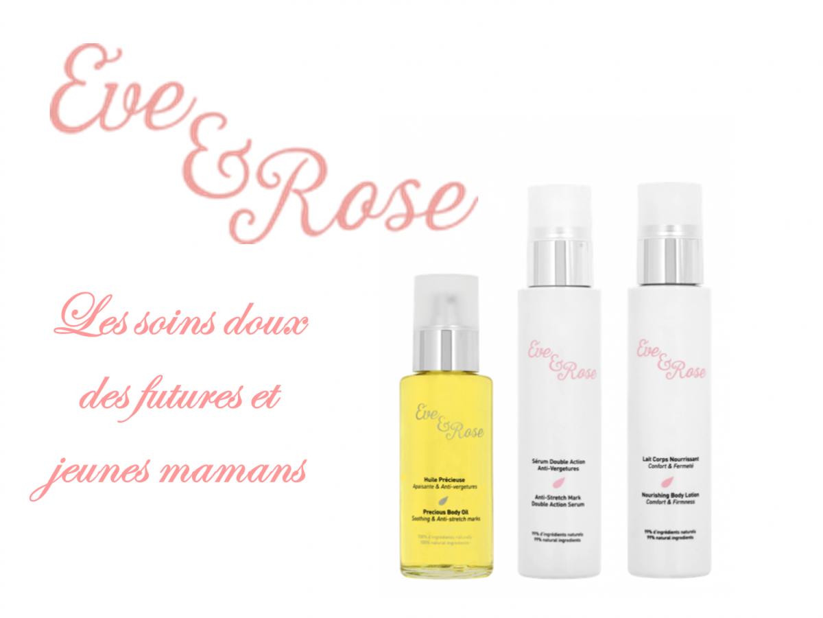 Eve & Rose, de nouveaux soins femme enceinte naturels et doux