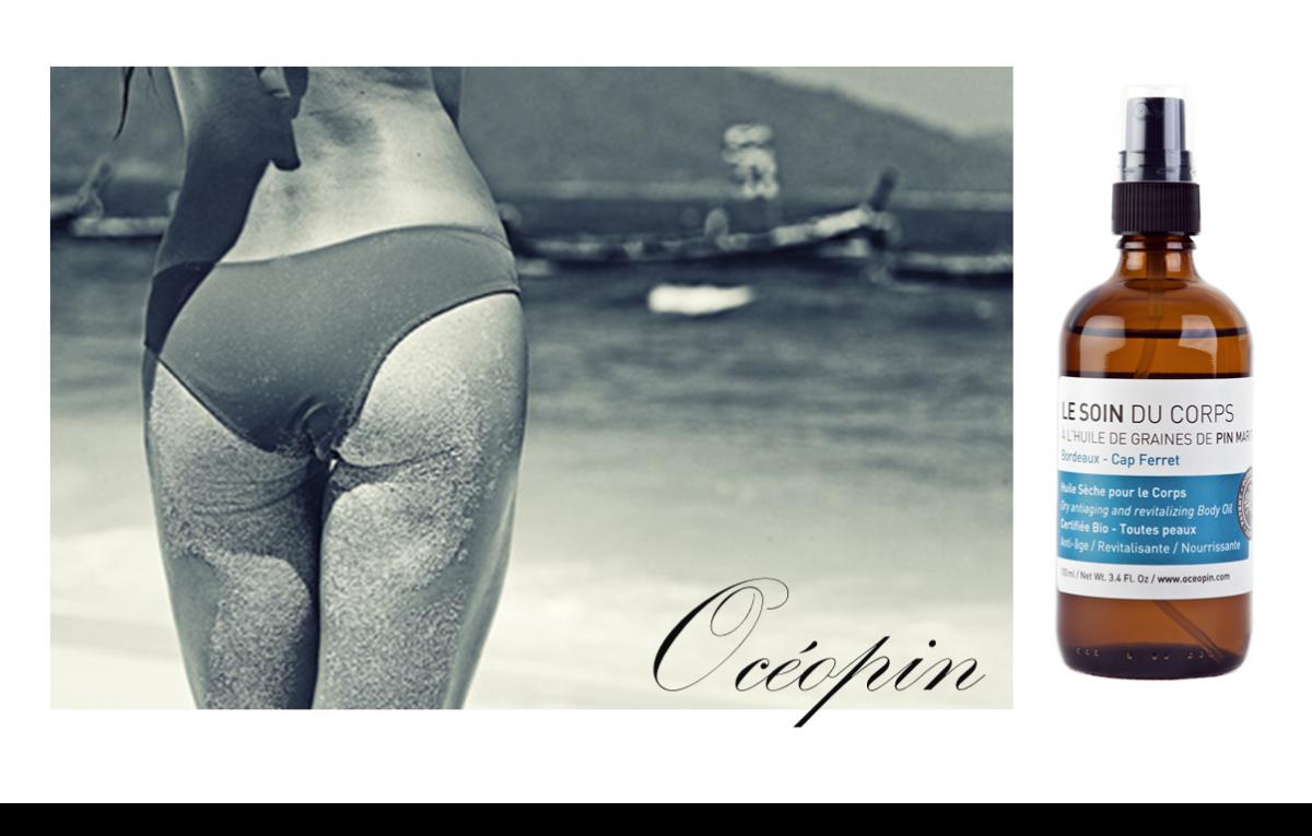 Océopin présente son huile pour le corps 100% made in Cap Ferret
