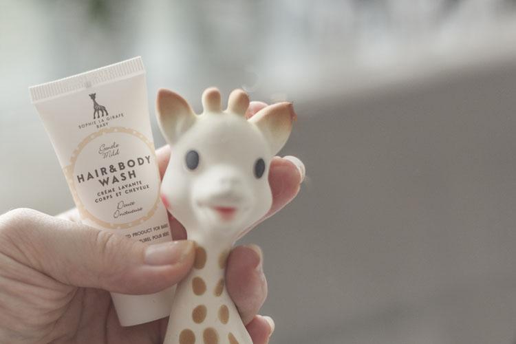 sophie-la-girafe-cosmetics un doux cadeau naissance